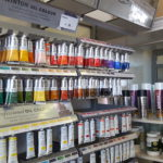 Winton oil paint.