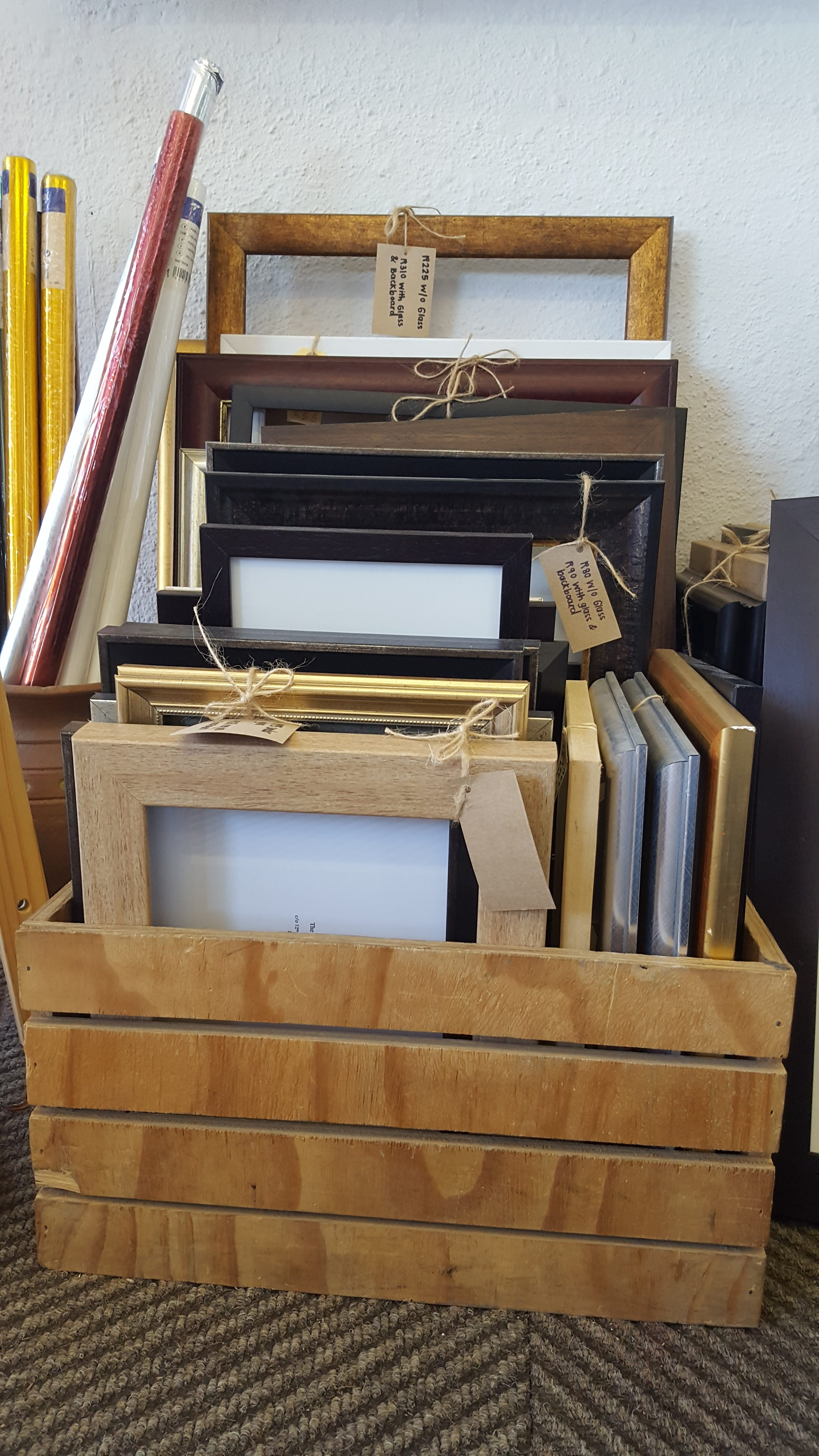 Small ready-made picture frames we make from off-cuts and ...