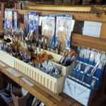 A selection of brushes.