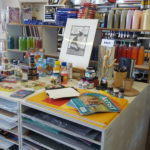 Art and paint and lots of interesting things!